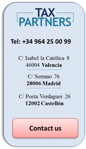 Contact information of the Spanish offices of the accounting firm